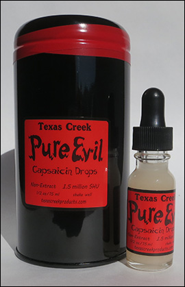 Pure Evil Products Pure Evil Capsaicun Drops